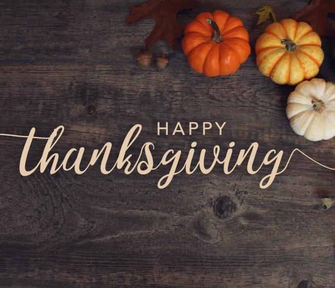November 22, 2018 - Happy Thanksgiving