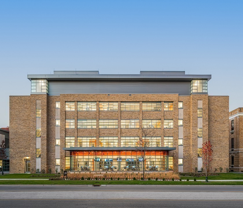 BGSU Kuhlin Center LEED Gold Status