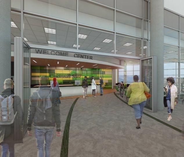 December 11, 2018 - Cincinnati State Opens Welcome Center