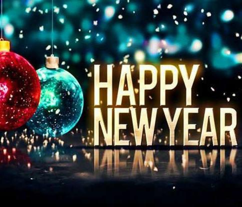 January 2, 2019 - Happy New Year